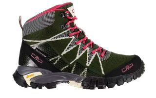 CMP TAURI MID OLIVE GREEN PINK WOMAN