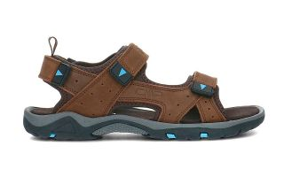 <center><b>CMP</b><br > <em>BLUE BROWN ALMAAK SANDALS</em>