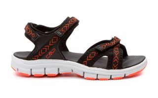 CMP BLACK ORANGE ALMAAK WOMAN SANDAL