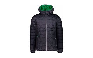 CMP CHAQUETA HEAT-SEALED QUILTED NEGRO VERDE