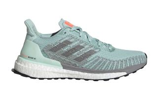 ADIDAS SOLARBOOST ST 19 AGUAMARINA GRIS MUJER EG2357