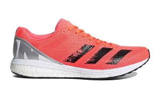 adidas ADIZERO BOSTON 8 BLACK CORAL