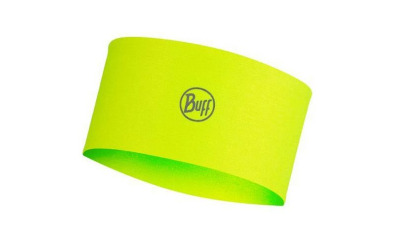HEAD BAND COOLNET SOLID NEON YELLOW