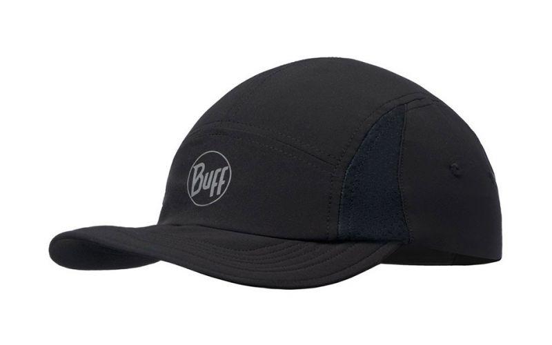 CAP RUN R-SOLID BLACK