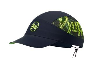 BUFF GORRA PACK RUN R FLASH LOGO NEGRO