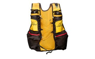 LA SPORTIVA TRAIL VEST BLACK YELLOW