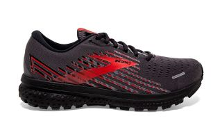Brooks GHOST 13 GTX NEGRO ROJO 1103421D075