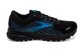Brooks GHOST 13 GTX SCHWARZ BLAU 1103421D018