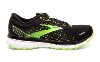 Brooks GHOST 13 NEGRO VERDE 1103481D039