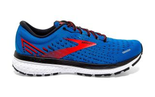 Brooks GHOST 13 BLEU ROUGE 1103481D435