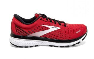 BROOKS GHOST 13 ROJO NEGRO 1103481D668