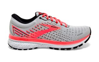 Brooks GHOST 13 GRIS CORAL MUJER 1203381B053