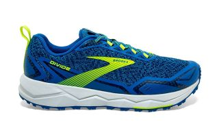 Brooks DIVIDE BLEU JAUNE 1103331D457