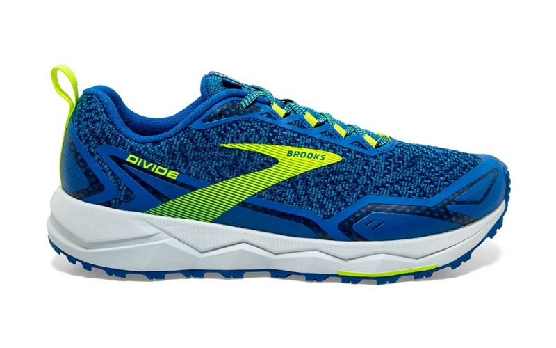 BROOKS DIVIDE AZUL AMARILLO 1103331D457