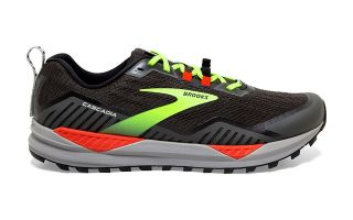 Brooks CASCADIA 15 BLACK FLUORESCENT YELLOW
