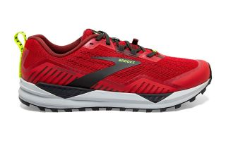Brooks CASCADIA 15 ROUGE NOIR 1103401D650