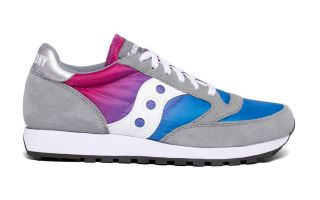 Saucony JAZZ ORIGINAL VINTAGE GRAY BLUE PINK