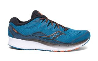 Saucony RIDE ISO 2 BLUE BLACK