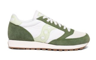 Saucony JAZZ ORIGINAL VINTAGE GREEN WHITE