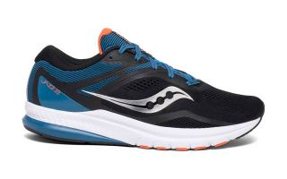 <center><b>Saucony</b><br > <em>JAZZ 22 BLACK BLUE</em>