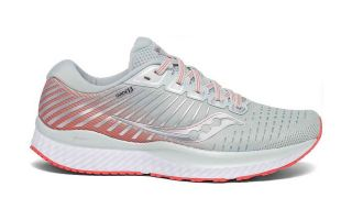 Saucony GUIDE 13 GRIS CORAL MUJER S10548-45