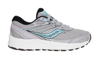 SAUCONY COHESION 13 GREY BLACK WOMAN