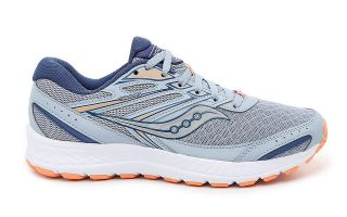 SAUCONY SAUCONY COHESION 13 GRIS AZUL MUJER S10559-3