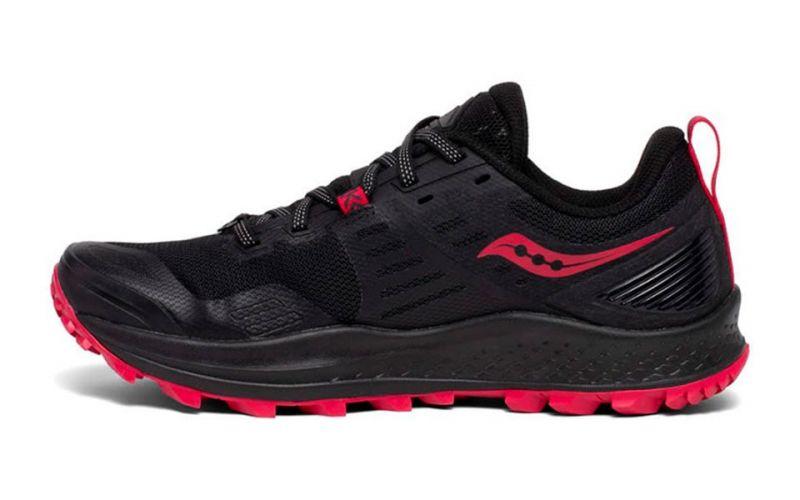 Zapatillas Saucony Peregrine 10 ST rosa rojizo negro mujer
