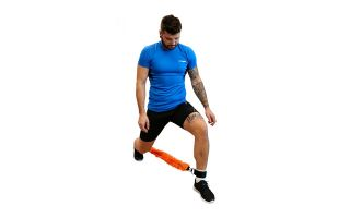 Softee RESISTANCE TRAINER LATERALE SOFTEE ARANCIONE