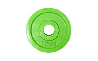 Softee DISCO DE CAUCHO WORK 1,25KG VERDE