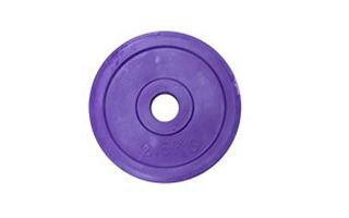 SOFTEE DISCO DE CAUCHO WORK 2.5 KG VIOLETA