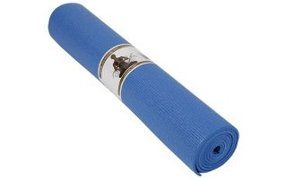 Softee TAPIS PILATES YOGA DELUXE 6MM BLEU