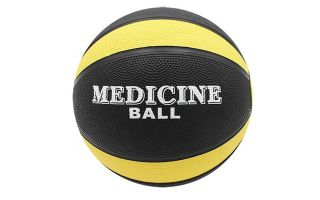Softee MEDICINE BALL NEW 2 KG YELLOW BLACK