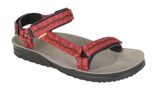 Lizard SUPER HIKE RED WOMEN'S SANDALS