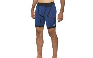 Sport HG SENNER SHORT MESH BLACK BLUE