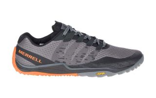 Merrell TRAIL GLOVE 5 GRIS ORANGE J50265