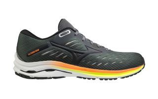Mizuno WAVE RIDER 24 GRIS ORANGE J1GC2003 16