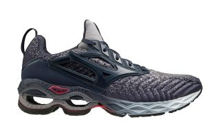 Mizuno WAVE CREATION WAVEKNIT BLU INDACO ROSSO