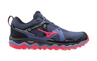 Mizuno WAVE MUJIN 7 BLUE BLACK WOMAN