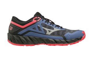 Mizuno WAVE IBUKI 3 BLACK BLUE WOMEN