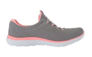 Skechers SUMMITS GRIS ROSA MUJER 12980GYPK