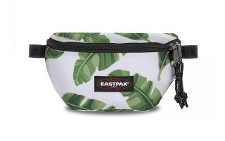 EASTPAK FANNY PACK SPRINGER BRIZE NATURAL LEAVES