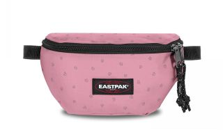 EASTPAK FANNY PACK SPRINGER TRIBE ROCKS PINK