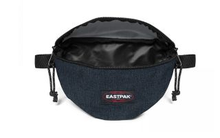 EASTPAK FANNY PACK SPRINGER TRIPLE BLUE DENIM