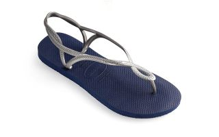 Havaianas SANDALS MOON BLUE SILVER GIRL