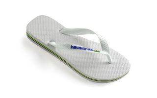 Havaianas CHANCLAS BRASIL LOGO BLANCO JUNIOR