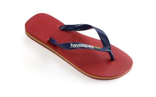 HAVAIANAS TONGS BRASIL LOGO ROUGE JUNIOR