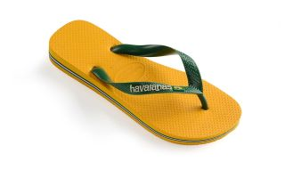 Havaianas TONGS BRASIL LOGO JAUNE JUNIOR