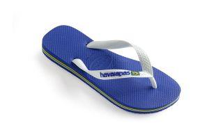 Havaianas JUNIOR NAVY BLUE LOGO BRASIL FLIP-FLOPS