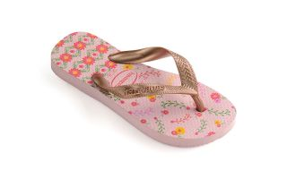 Havaianas TONGS FLORES ROSE GOLD FILLE